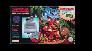 Super Nintendo Basenhet inkl Donkey Kong Country SCN