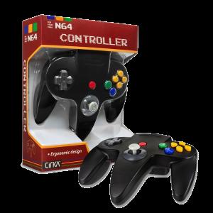 N64 Handkontroll (Black) Ny